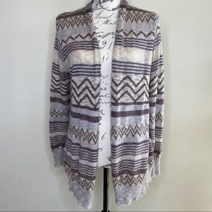 Maurices open front knit cardigan